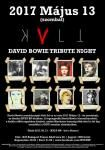 David Bowie Tribute Night - KVLT BP (2017.05.13.)