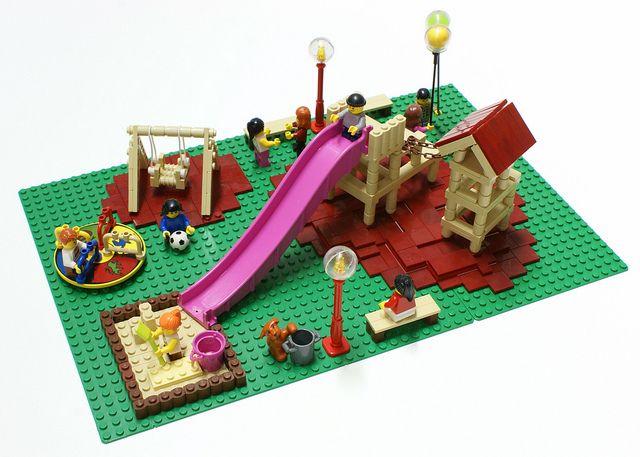 playground lego lego ideen und einrichtung. Black Bedroom Furniture Sets. Home Design Ideas