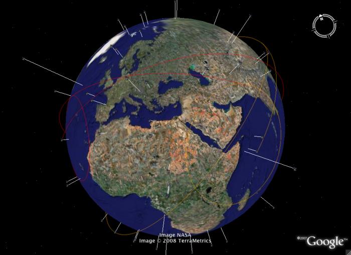 Google Earth Visualization Live Global Clouds For Google Earth - Google earth satellite