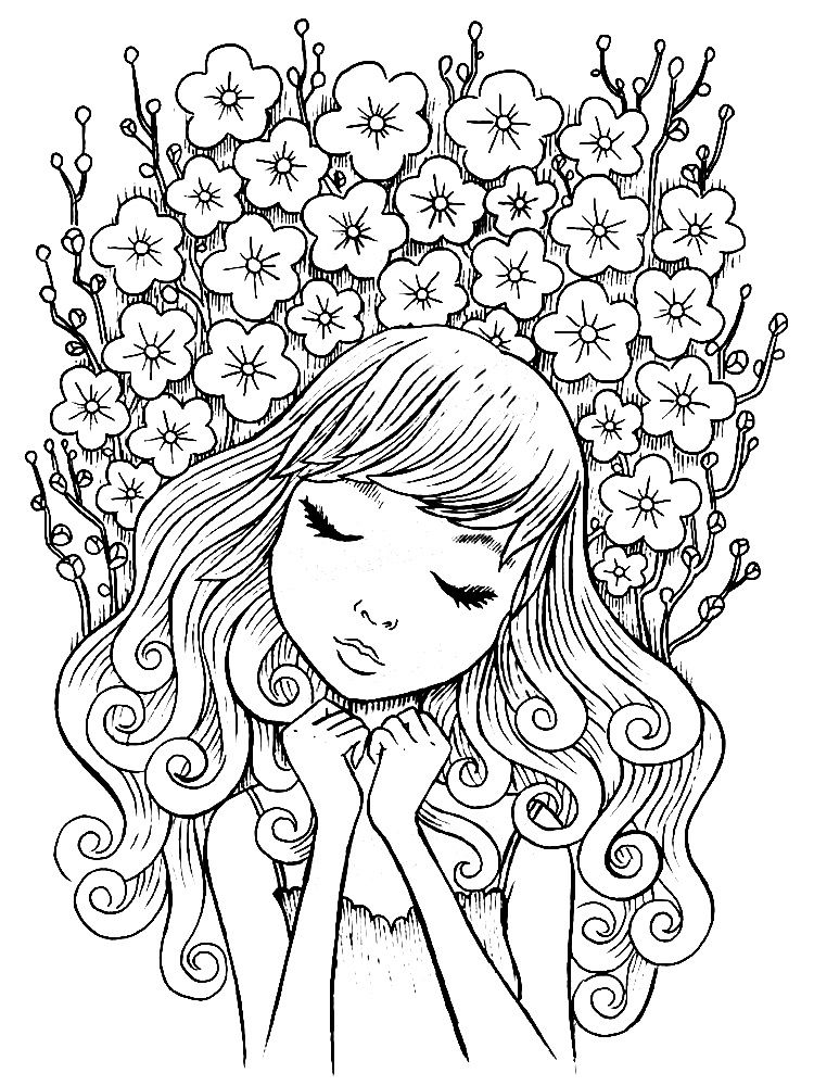Jeremiah Ketner Mom Coloring Pages Doodle People Coloring Pages