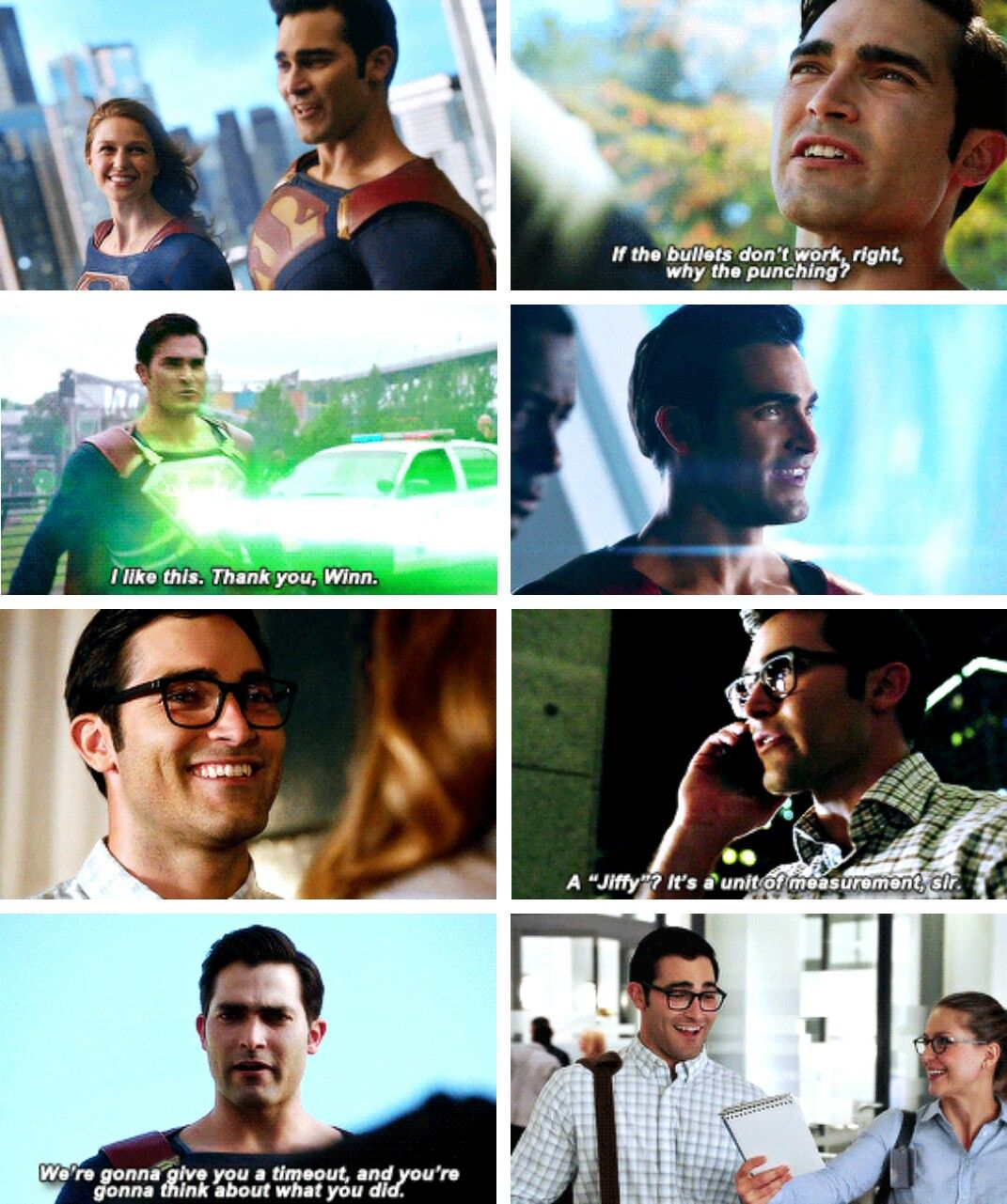 Tyler Hoechlin as Clark Kent / #Superman in #Supergirl #Season2 #2x02 : The Last Children of Krypton.