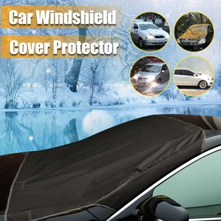Car Truck SUV Auto Magnet Fixing Window Windshield Windscreen Cover Sunscreen Ultraviolet Snow Frost and Light Aging Protection Cover With Storage Bag 4 Colors - Walmart.com