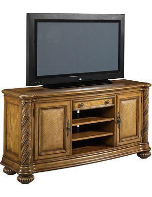 Havertys Grand Cayman Media Console Media Console Furniture Entertainment Unit