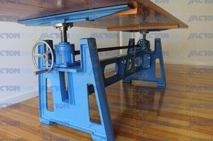 Hand Crank Table Lift Mechanism Handle Wheel Manual Cranked