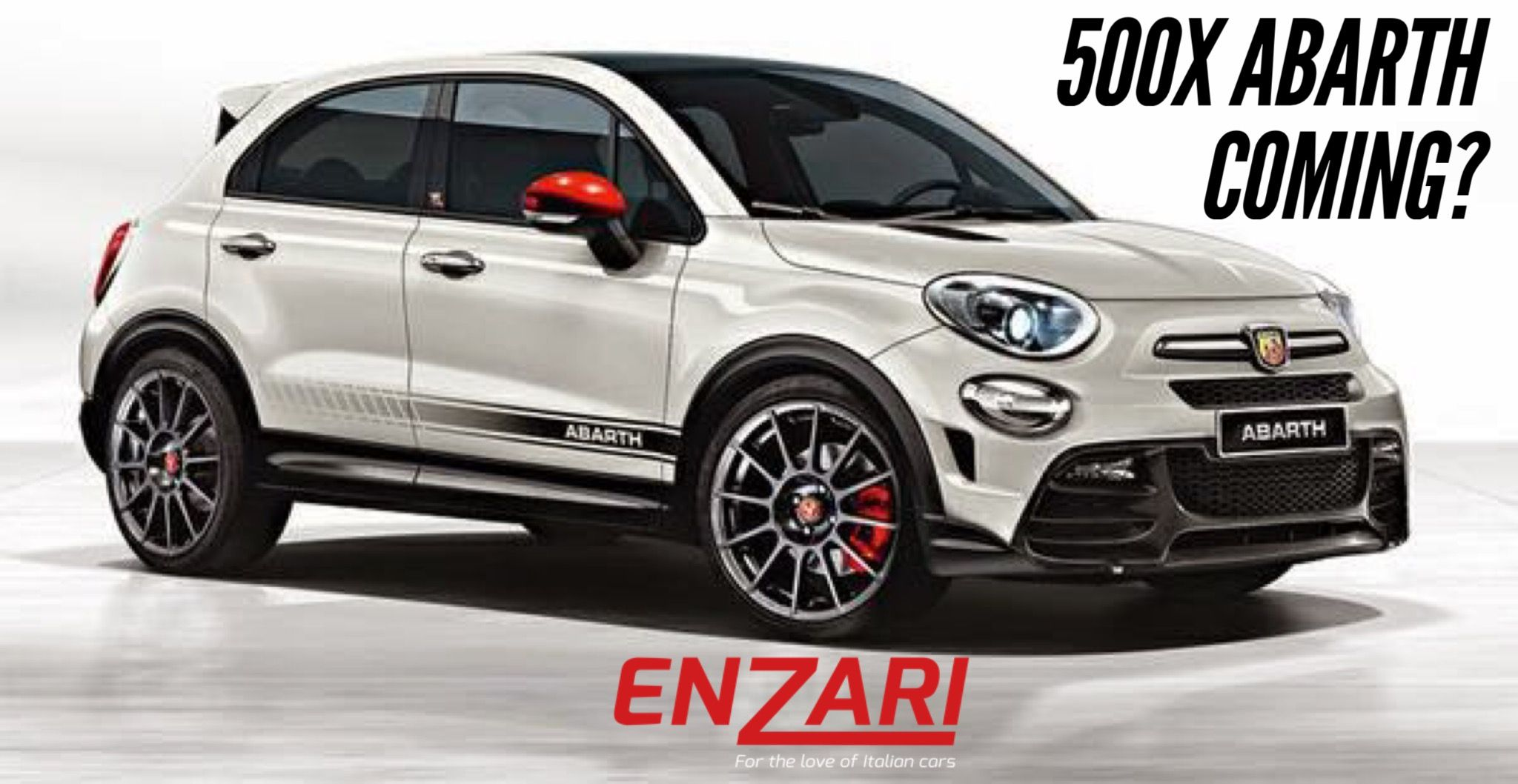 Is there a Abarth 500X on the way? #abarth #500x #enzari #cars #news