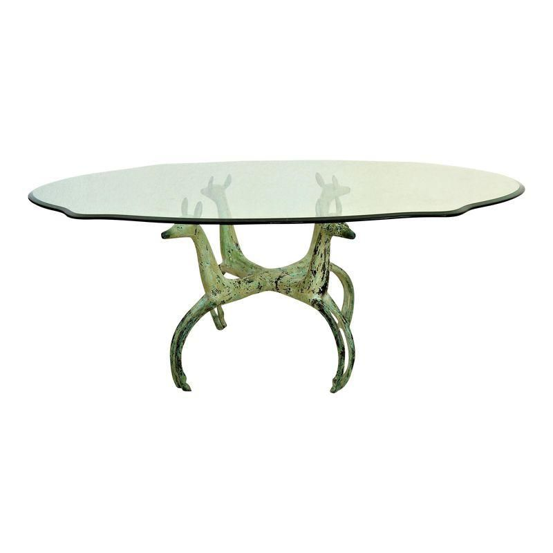 Vintage Mid Century Solid Brass Modern Coffee Table Glass Top Not