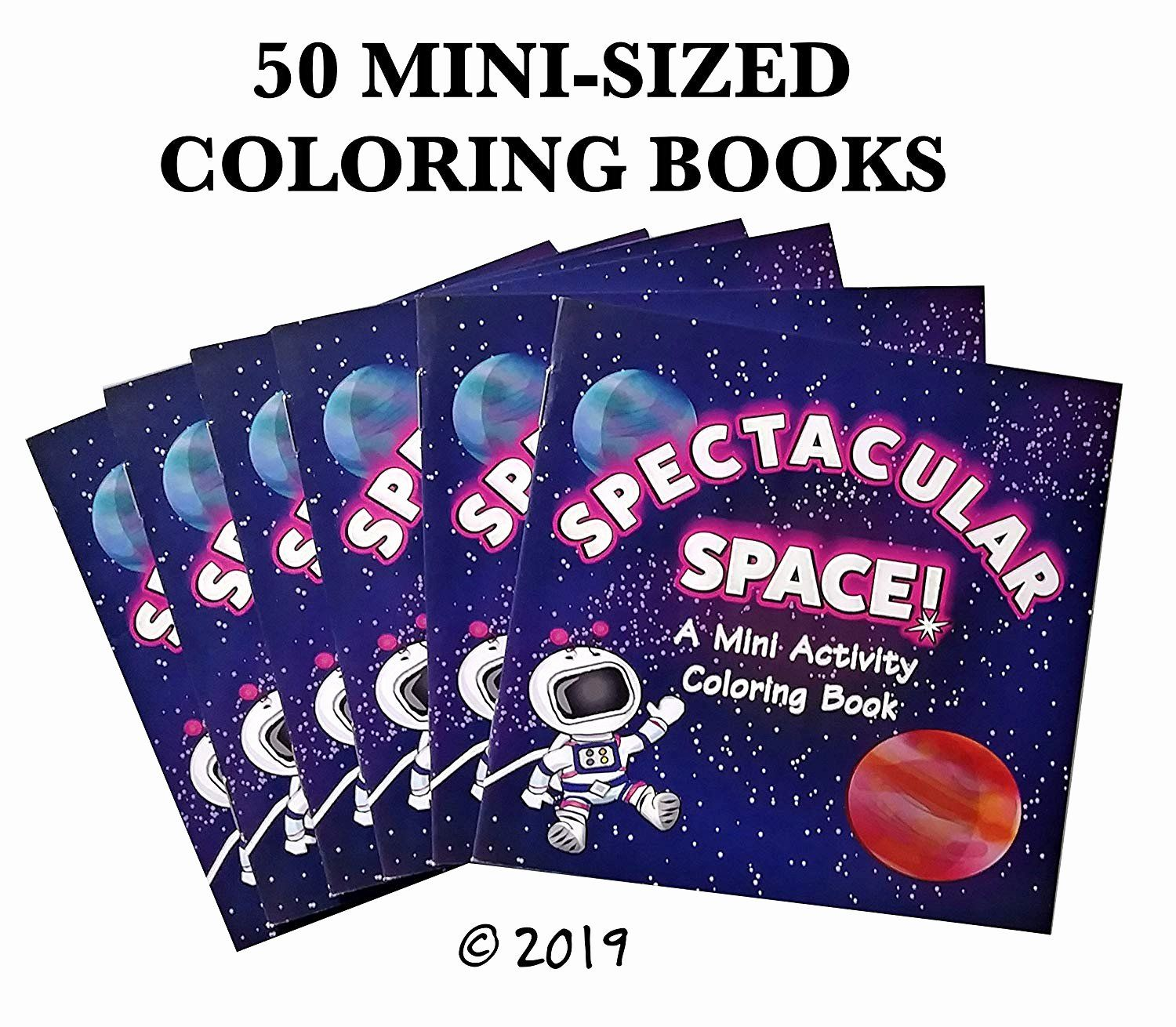 Ice Cream Coloring Book Best Of 50 Pack 4 75 X 4 75 Mini Sized Space Coloring Books In Bulk Outer Space Party Favors Coloring Books Outer Space Party Favors