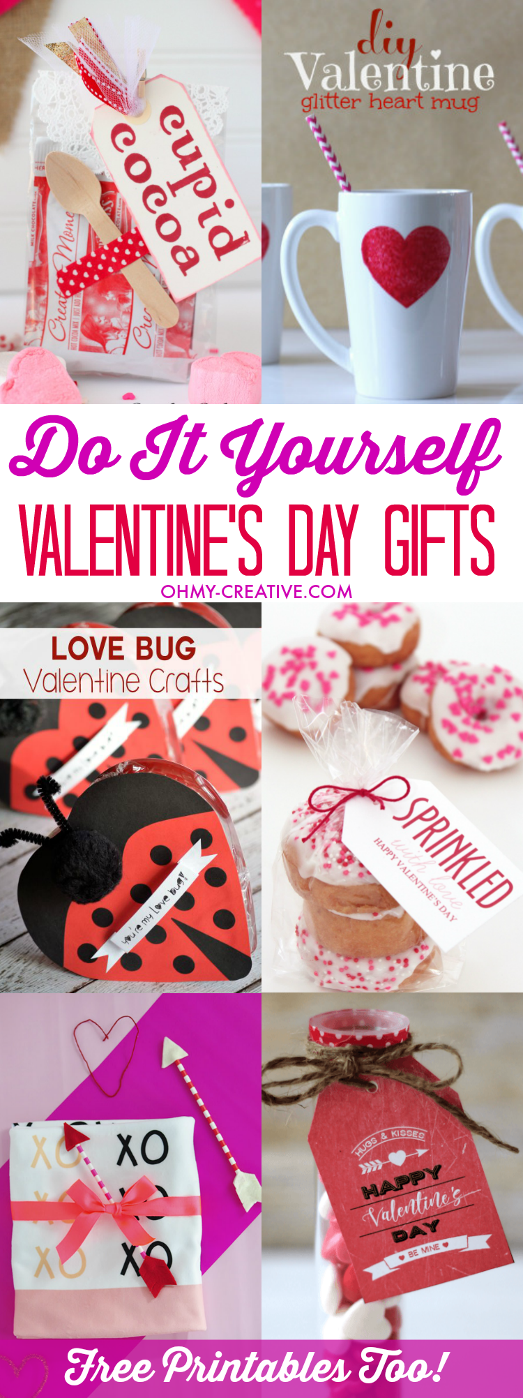 Do it yourself valentines day gifts regalitos do it yourself valentines day gifts oh my creative solutioingenieria Images