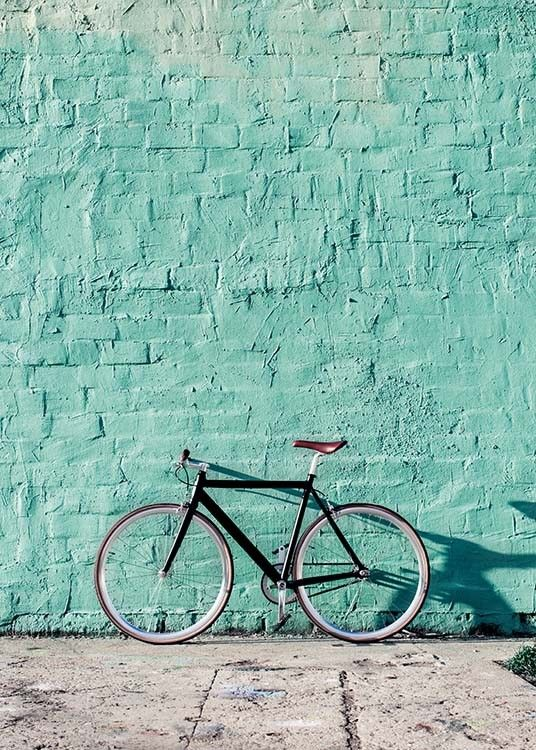 Mint Bike Poster