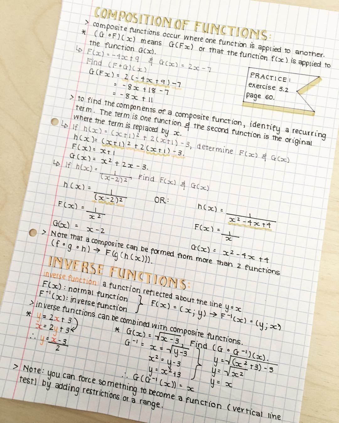 """Photo of SmartGirl on Instagram: """"Hey! Here are some mathematical AP notes from a couple of days ago x…"""