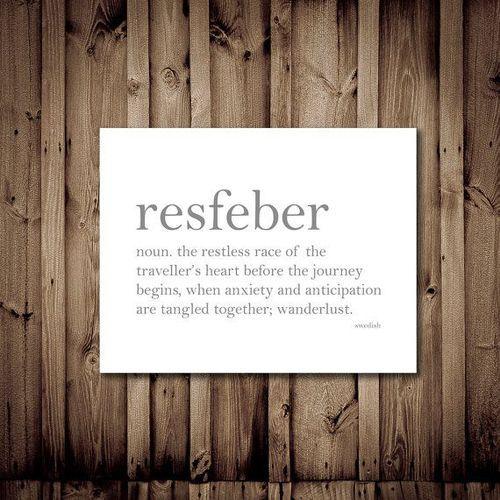Resfeber (Swedish)