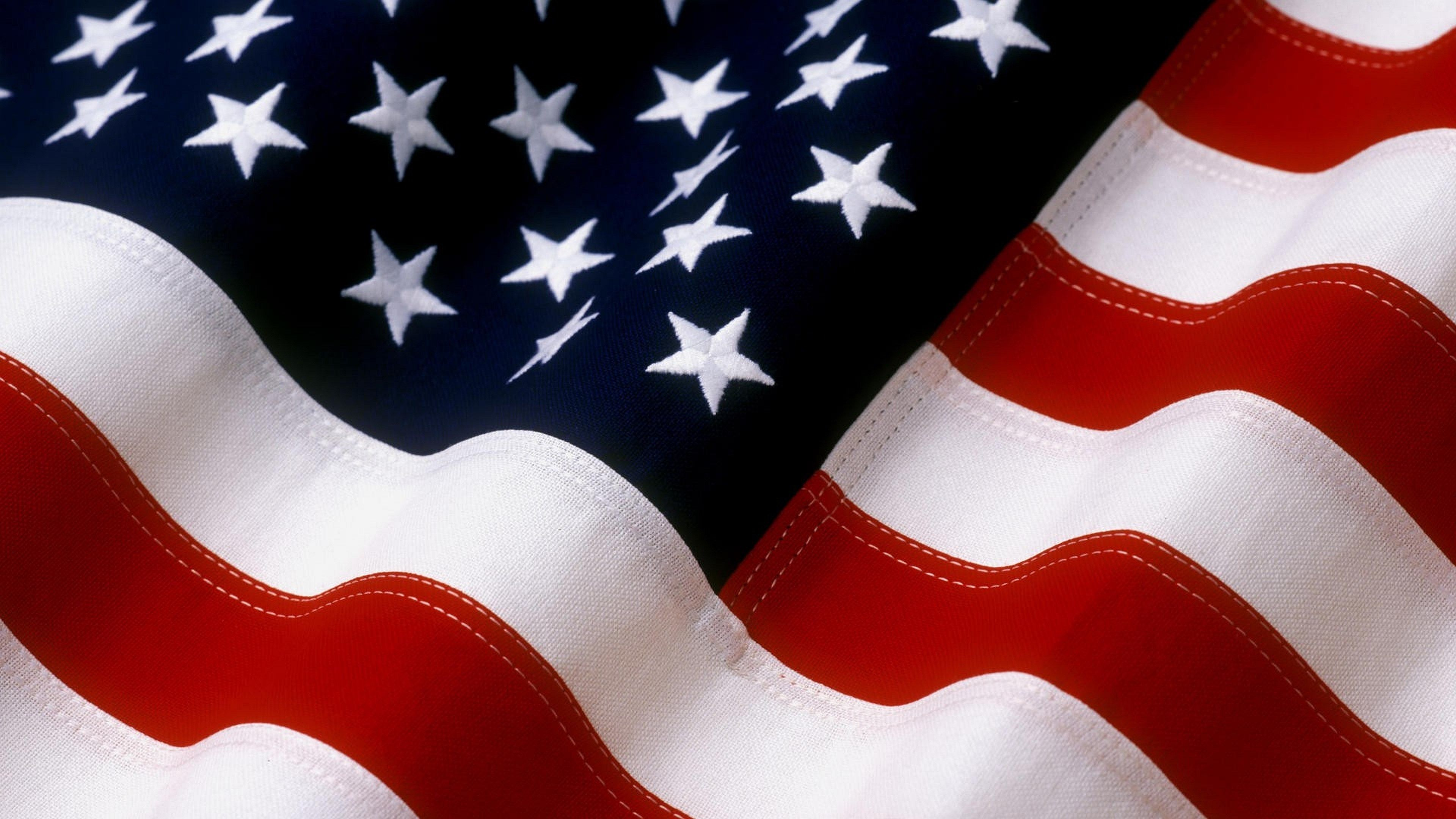 4k American Flag Hd Wallpaper 3840x2160