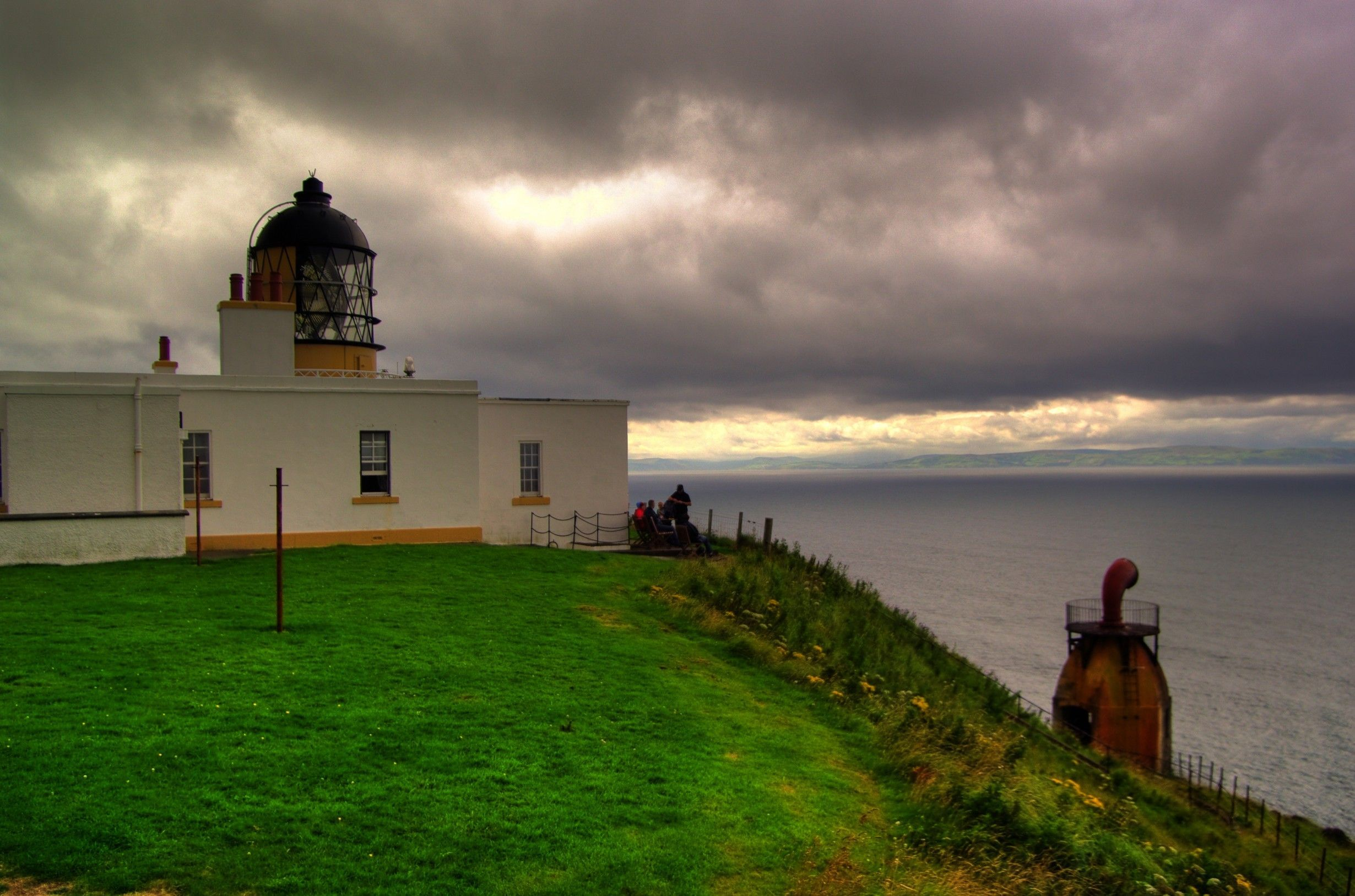 Mull of Kintyre Lighthouse. I want to visit here someday, when I return to Scotland.