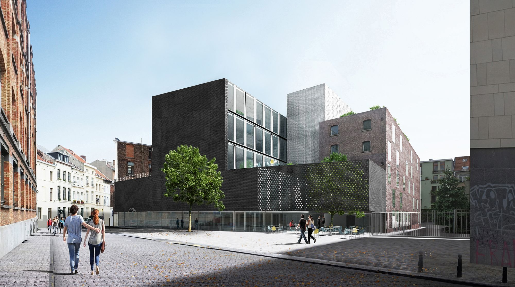 B-Architecten . Bevk Perović .  Erasmus hogeschool . Brussels (1)