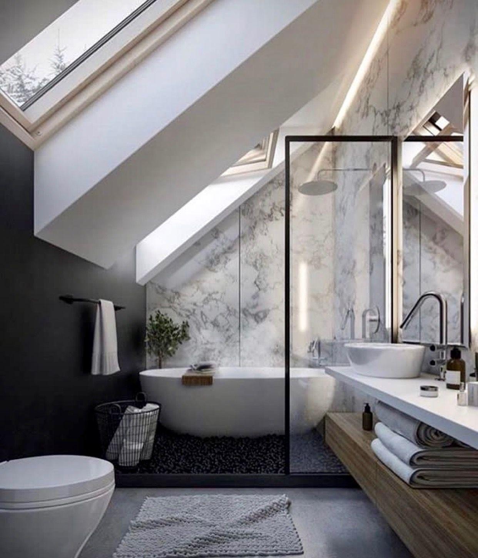 Pin By Nicol Stien On Deco Bain Deco Bathroom Contemporary Bathroom Designs Bathroom Interior Bathroom Design