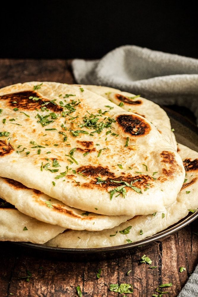 Garlic Naan Bread Recipe Without Yeast | Saving Flavors ...