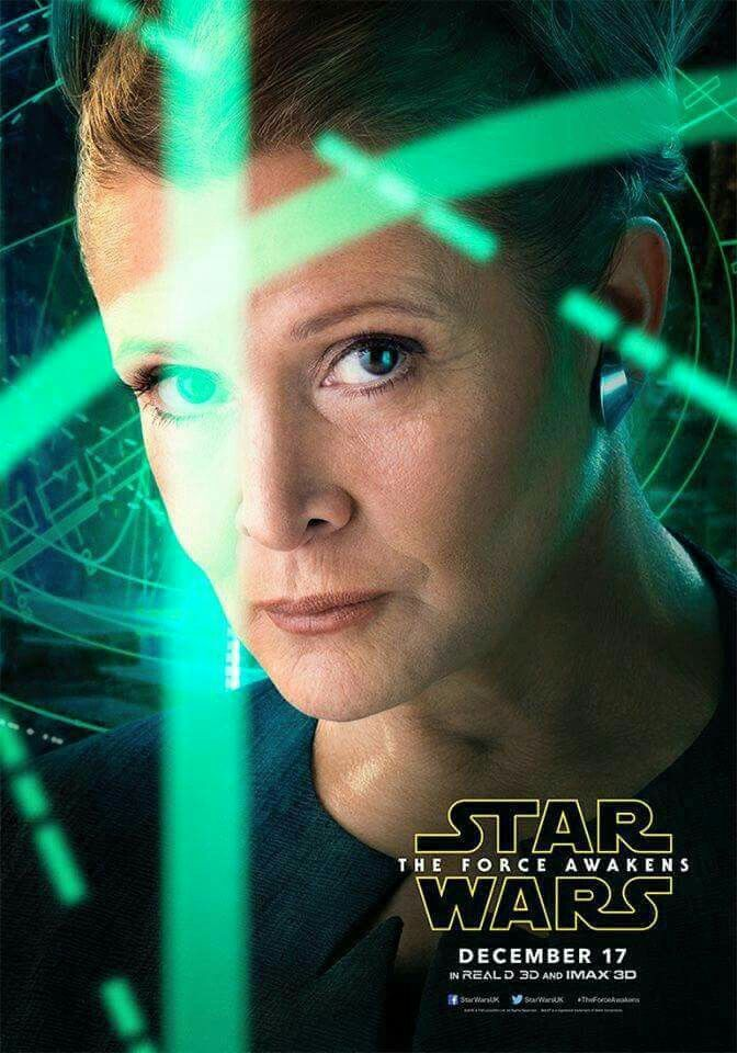 Star Wars - The Force Awakens - Character Poster - Leia Organa