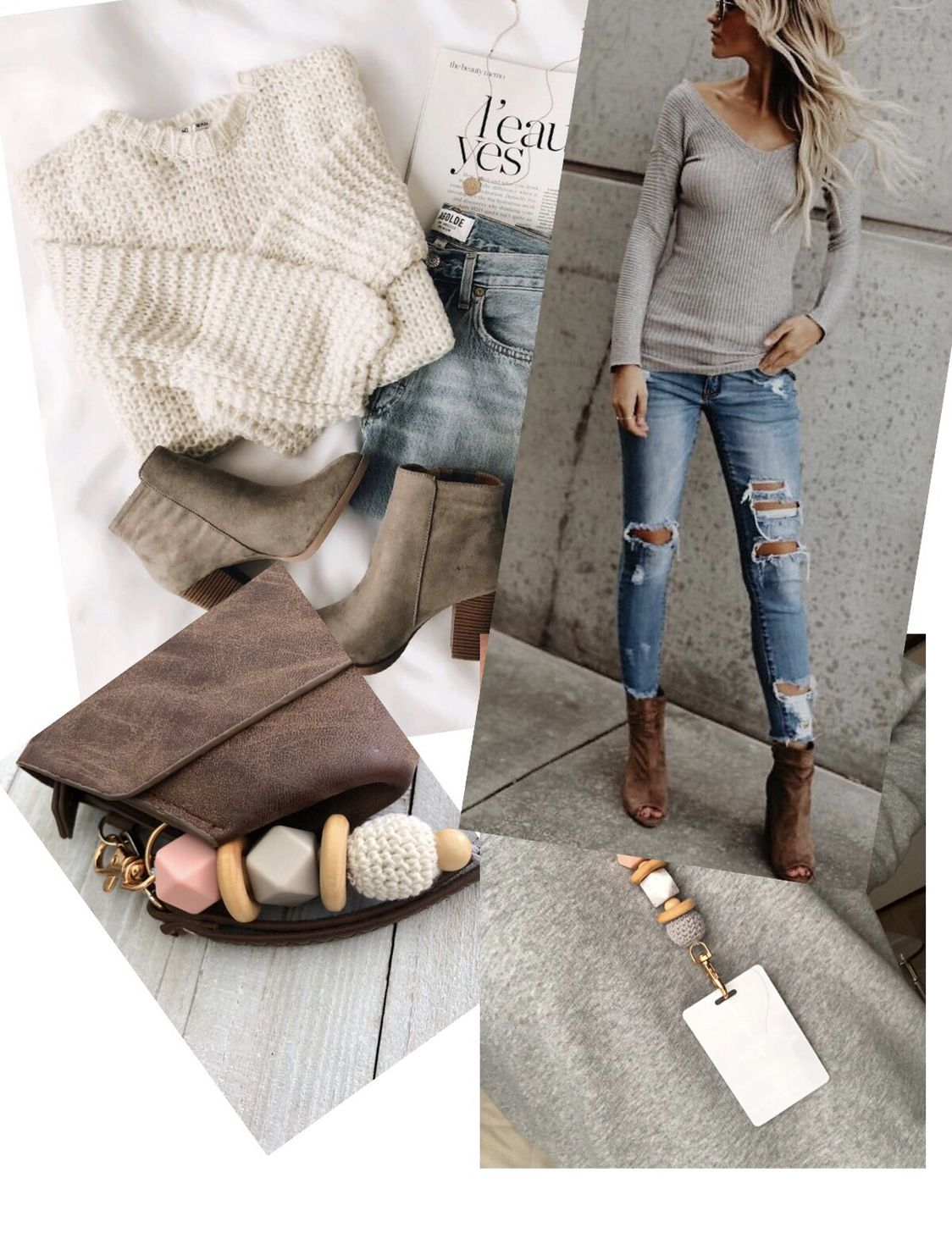 407589cd34c Lanyard necklace and keychains for fashion trendy women! outfit ideas💕For  outfit visit Lulus accessories visit Joule Grace