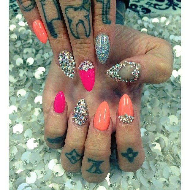 Jeffree Star @Bailey Larson Instagram photos | Websta | Nails ...
