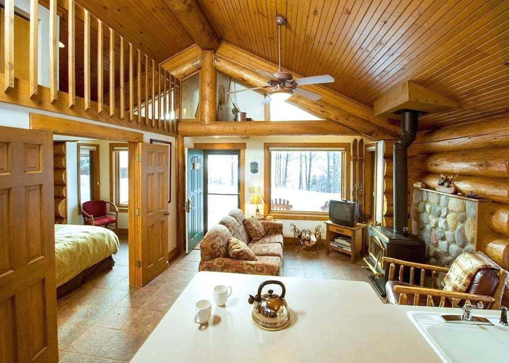 One Room Cabin Interiors Bedroom Loft Floor Plans Plan Log Small Cottage House Designs Bedrooms Design Ide One Room Cabins Small Cottage Homes Loft Floor Plans
