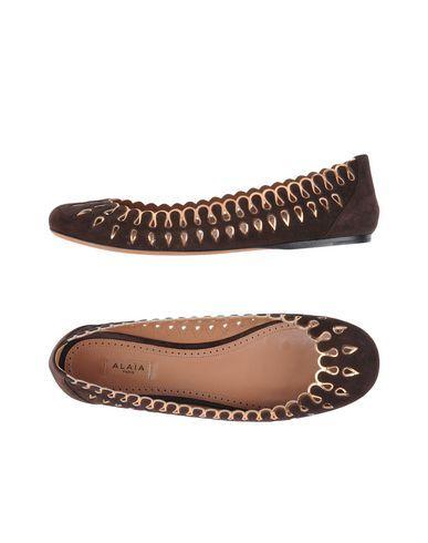 ALAÏA. Ballet FlatsDark BrownBallet FlatFlatBallet ShoesBallerinas
