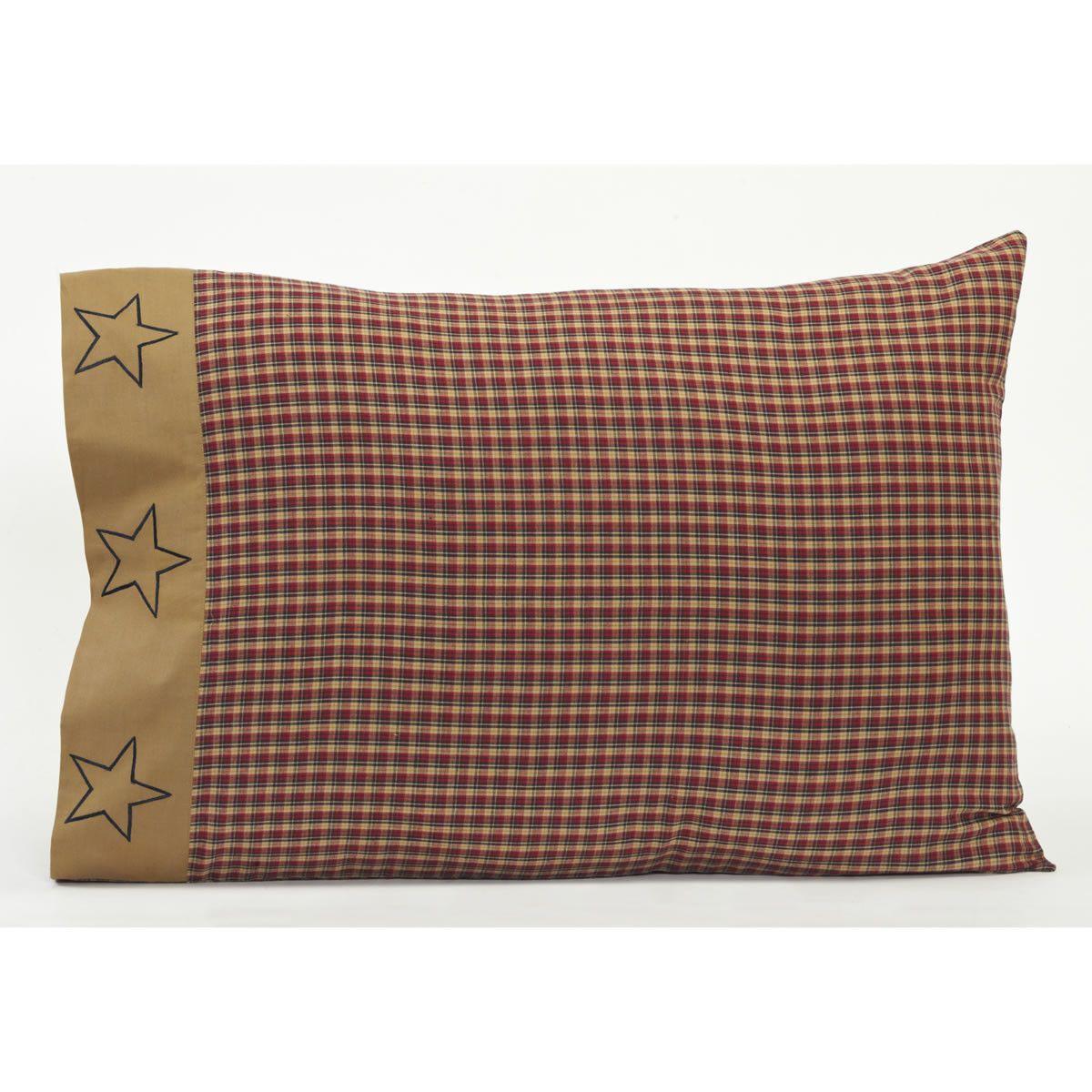 3a46cc362ebb0 Patriotic Patch Pillow Case