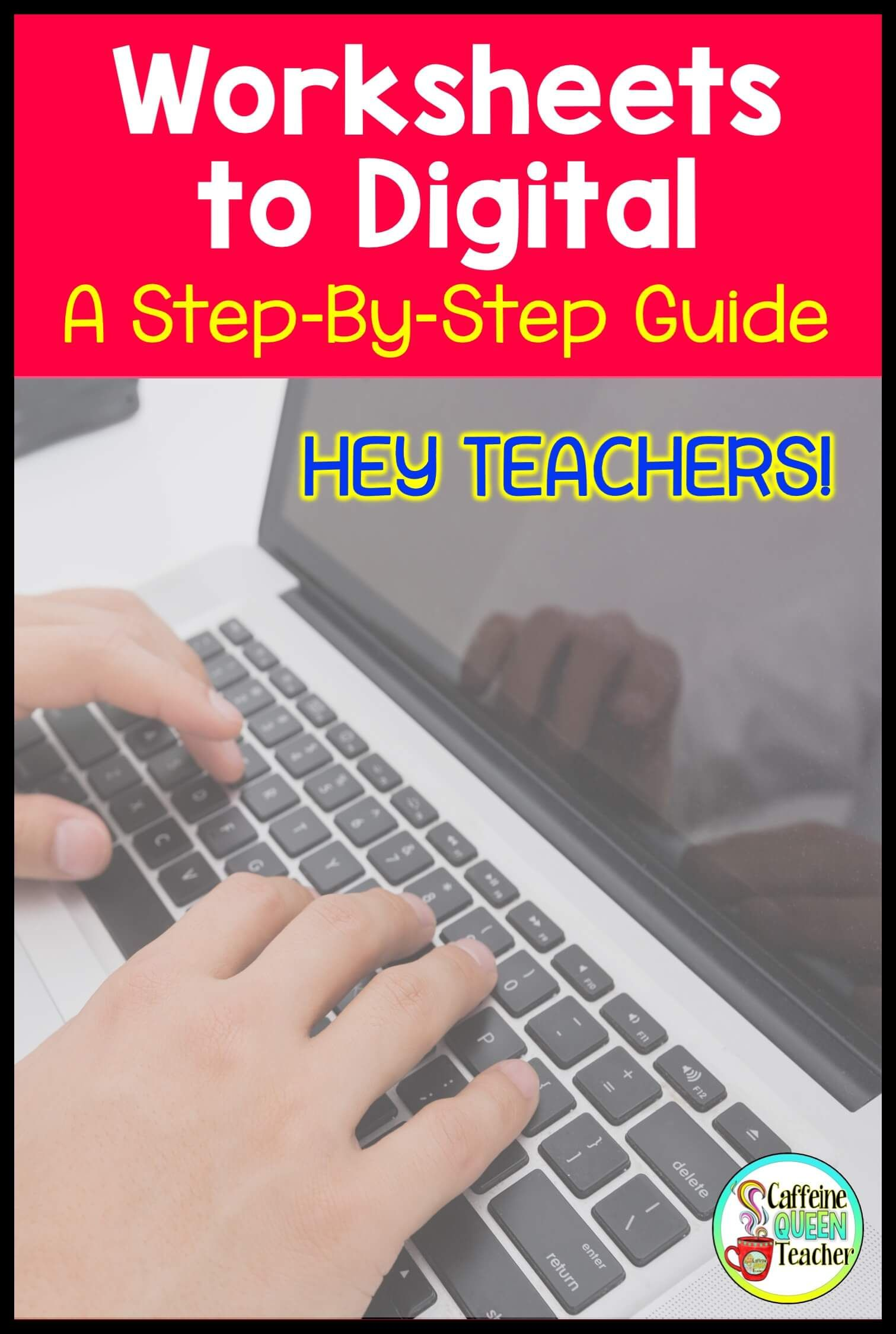 You Can Turn Your Worksheets Into Digital Worksheets And