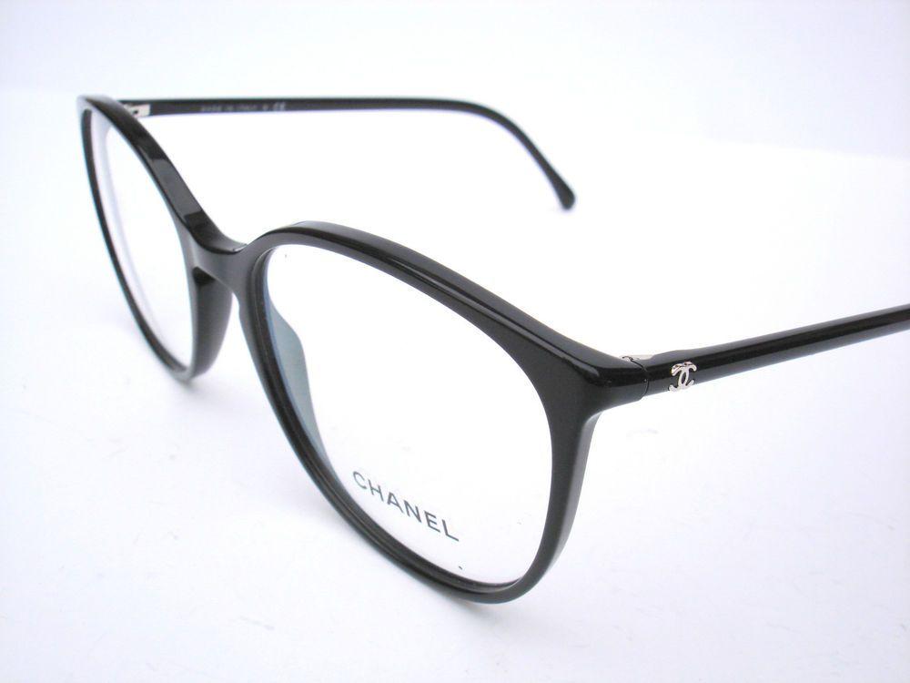 new chanel eyeglasses 3282 black authentic 54 18 140. Black Bedroom Furniture Sets. Home Design Ideas