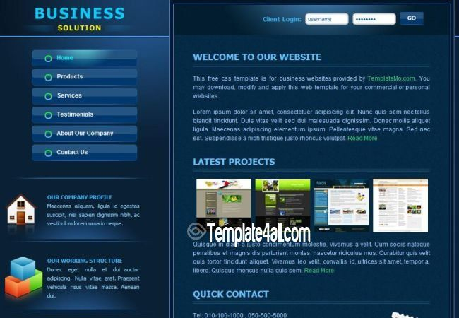 Nice blue corporate business css template css csstemplates nice blue corporate business css template css csstemplates business corporate wajeb Choice Image