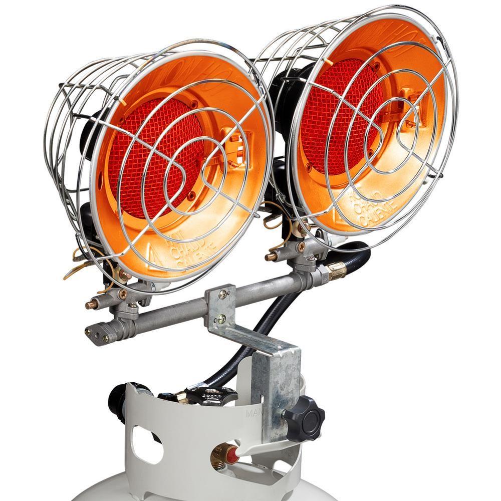 Avenger 30,000 BTU Infrared Propane Portable Heater ...