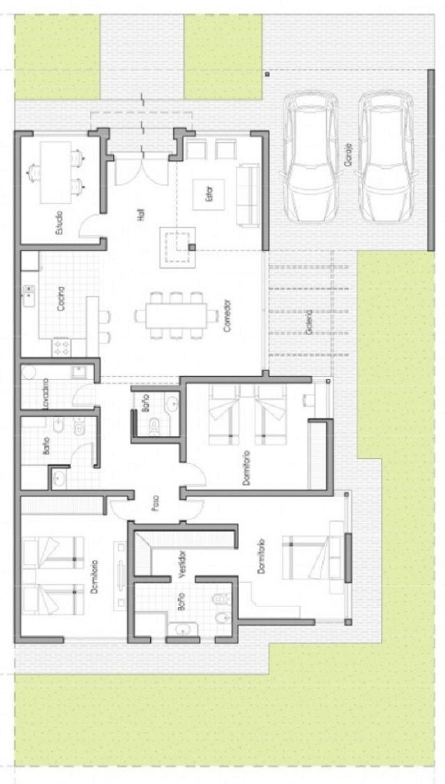 BUSCADOR DE PLANOS DE CASAS casa Pinterest House, Architecture