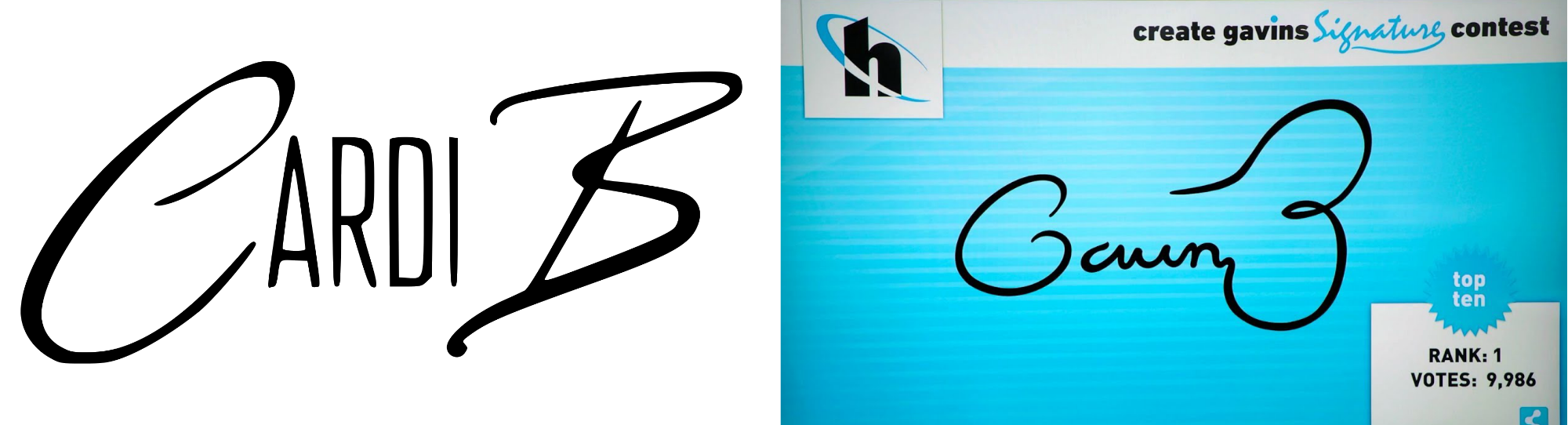 Um So I Just Saw Cardi B S Logo For The First Time Looked Familiar Logos Hip Hop Poster Silicon Valley Hbo