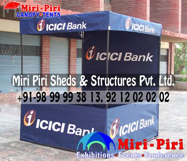 Manufacturers Suppliers of Bank Marketing Demo Tent, Conical