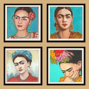 Conjunto De Impresion De Arte Hispano Etsy Hispanic Art Mexican Art Mexican Folk Art