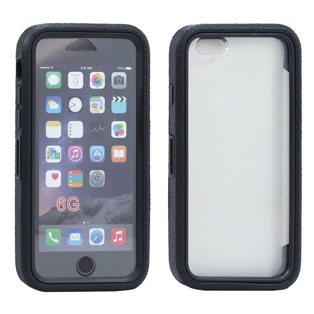 iPhone 6/6S Plus 5.5 Crystal Clear Armor Defender Case