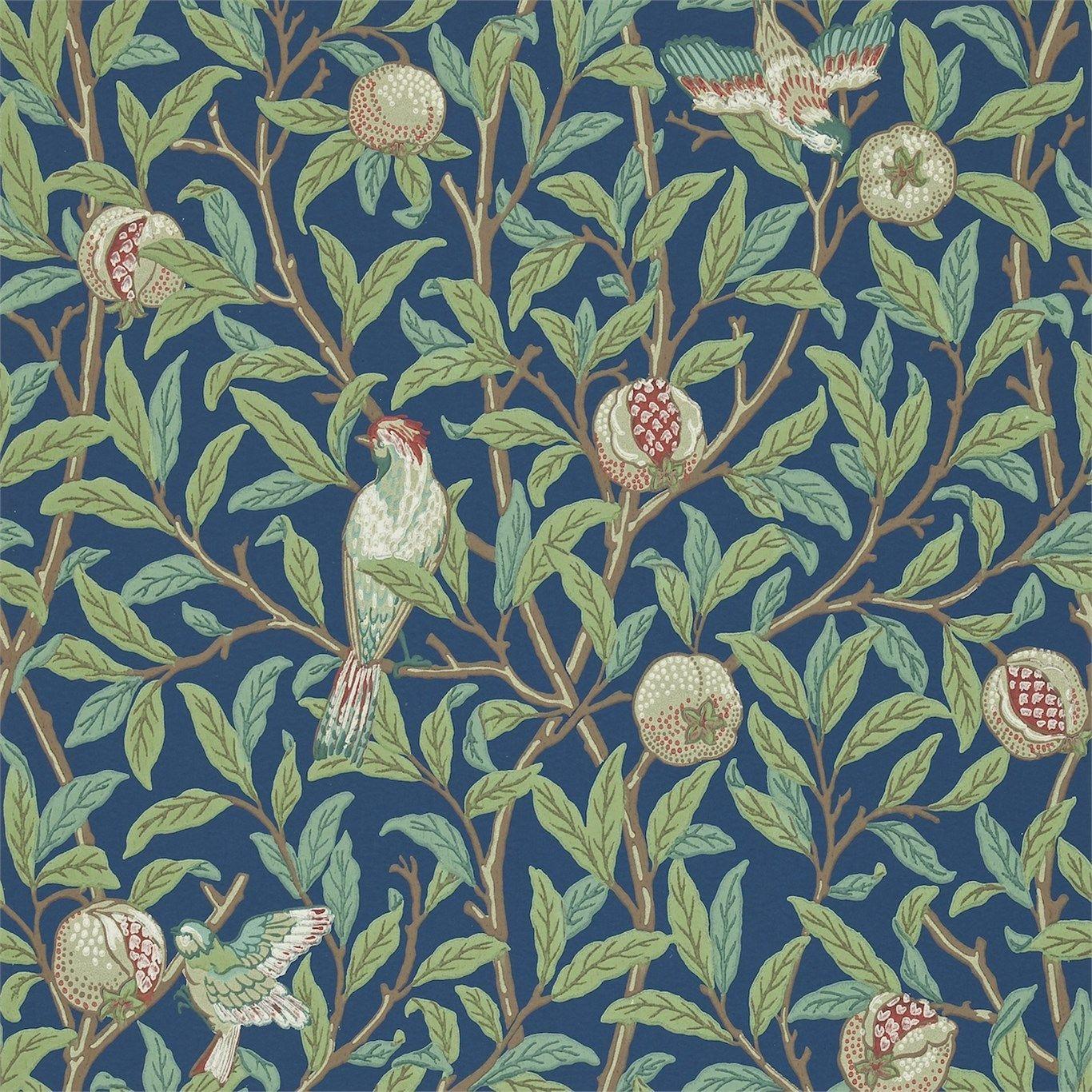Bird Pomegranate 212540 William Morris Wallpaper Morris Wallpapers William Morris Art