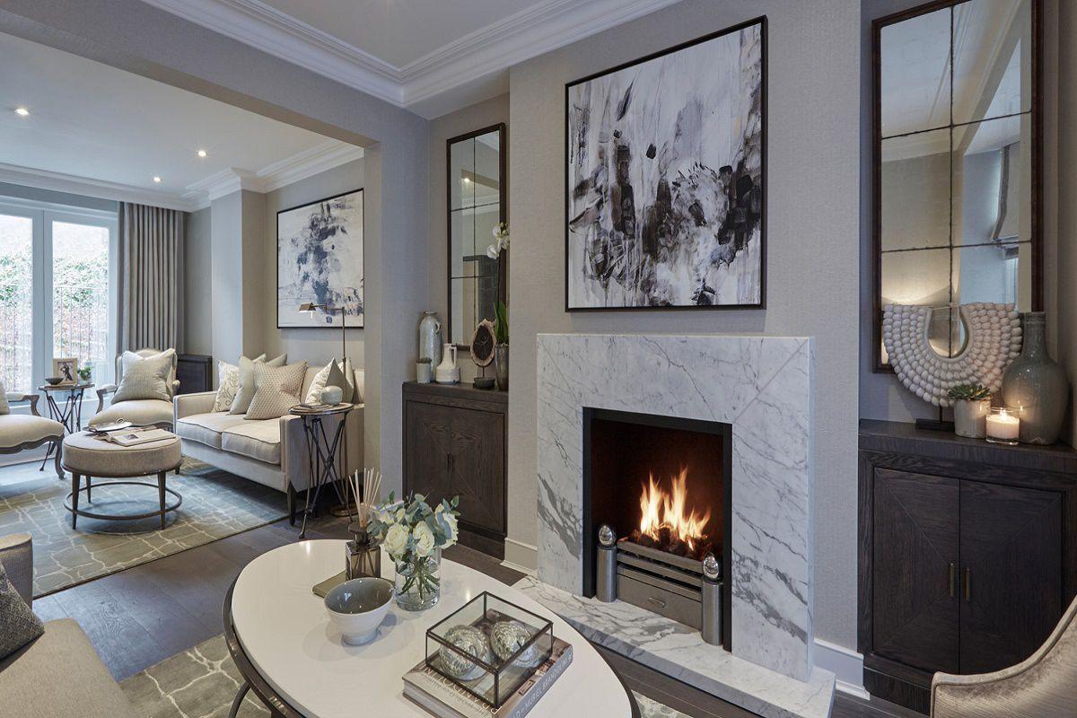 Sophie Paterson Chelsea Piedaterre Contemporary Classic Living Fascinating Classic Living Rooms Interior Design 2018