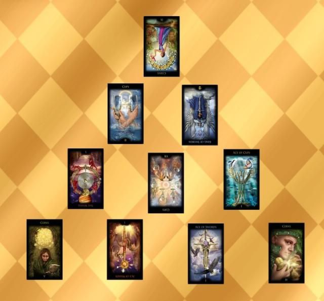 Tarot Spreads: Pyramid Tarot Card Spread