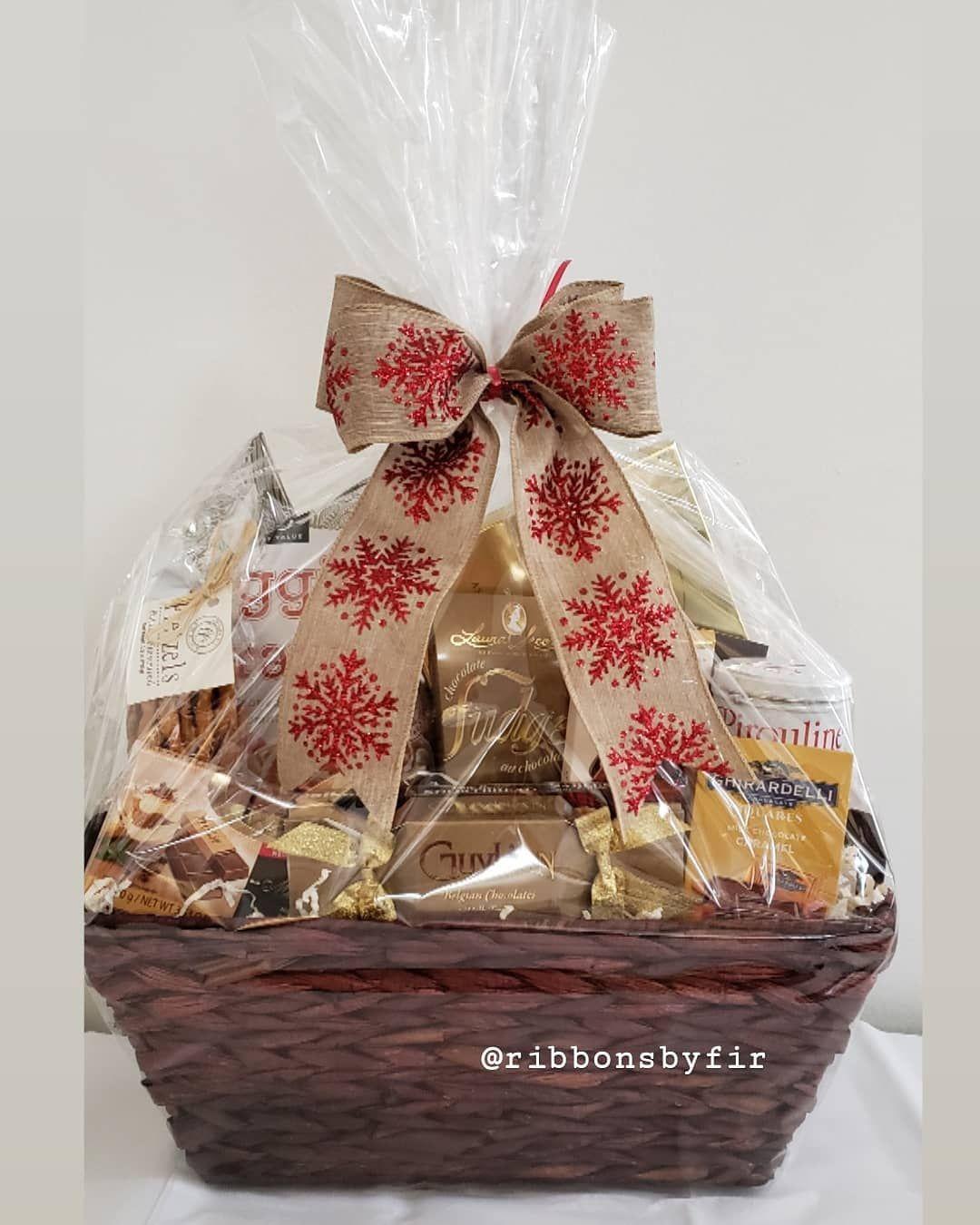 Final set of baskets delivered this week! 🎀 #ribbonsbyfir