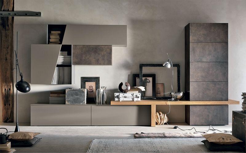 parete attrezzata per soggiorno | mobile tv | Pinterest ...