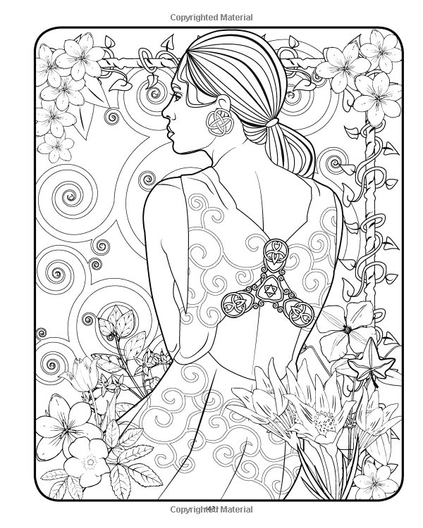 Amazon Com Tranquil Tresses Coloring Book 9781540756176 Mr Patrick D Kinsella Books Coloring Books Steampunk Coloring Cute Coloring Pages