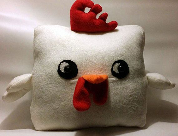 Cock Block Pillow Plush Things I Make Pinterest How To Make