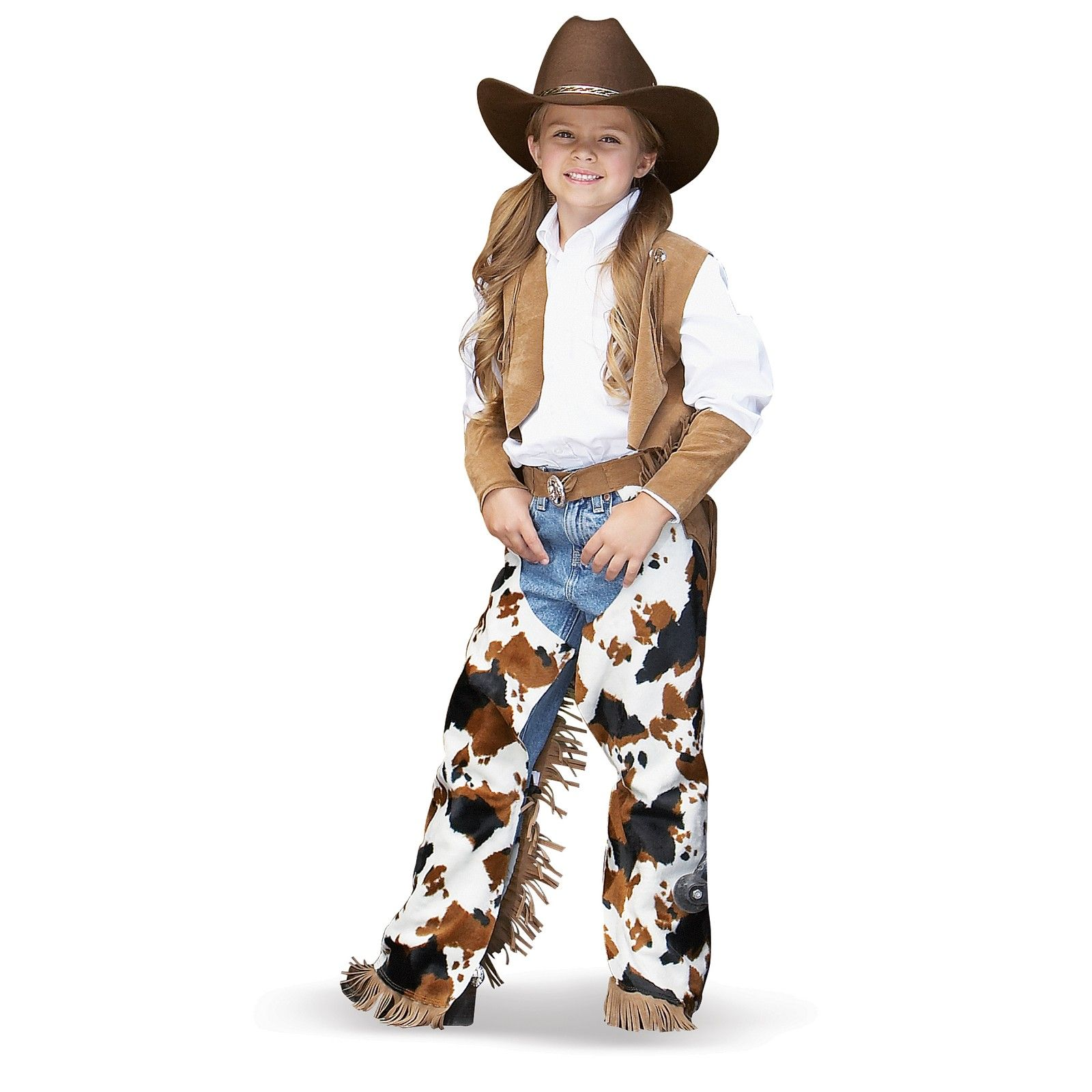 Giddy up and ride  em Cowgirl! They ll be raring to wrangle some cattle in  this get up. Perfect for a wild western themed Halloween! 2362f1c94b9