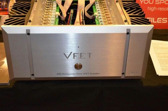 40th anniversary sony pass labs vfet amplifier one of a kind