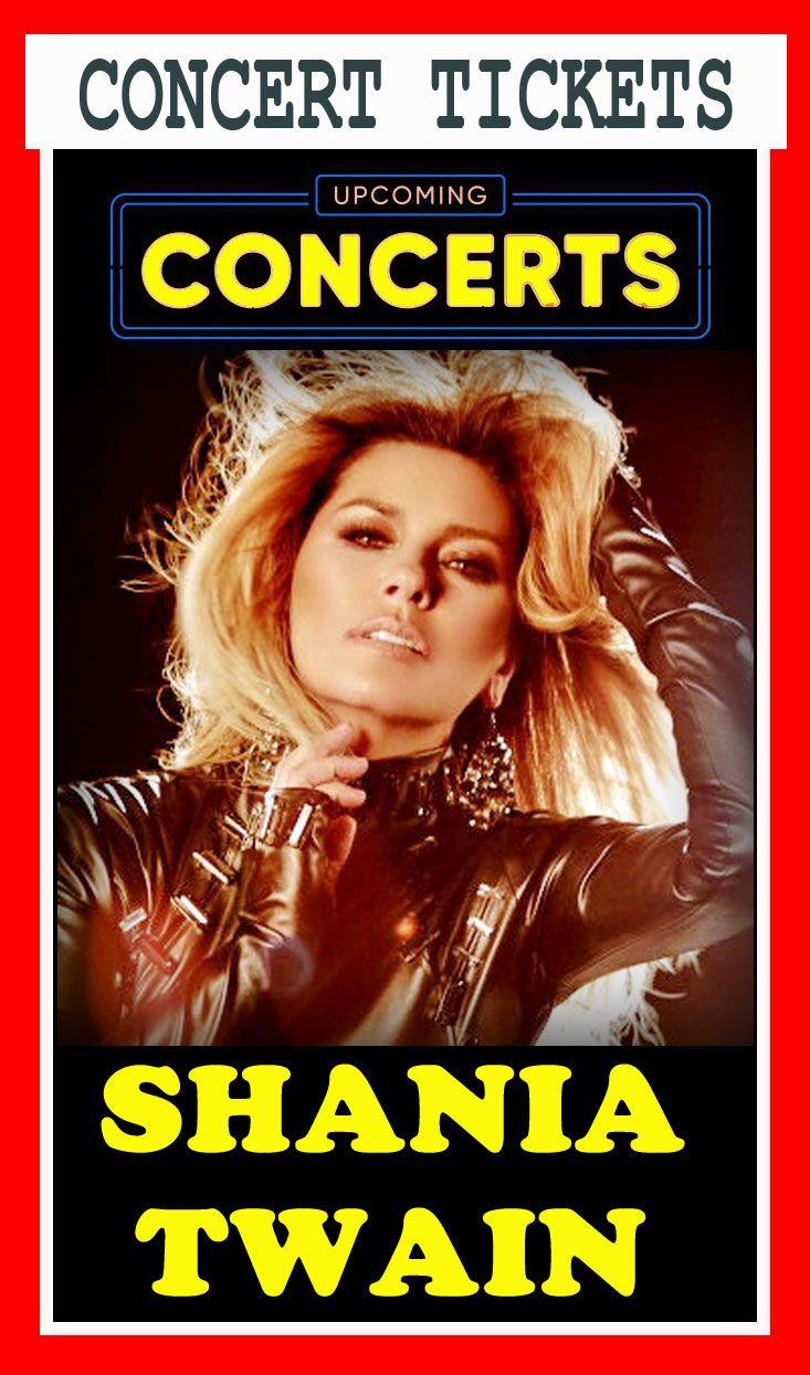 Shania twain concert dates