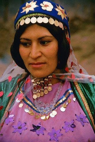 Iran   Bakhtiari woman   Photographer unknown