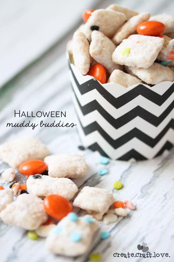 Halloween Muddy Buddies   Rezept   Rezepte