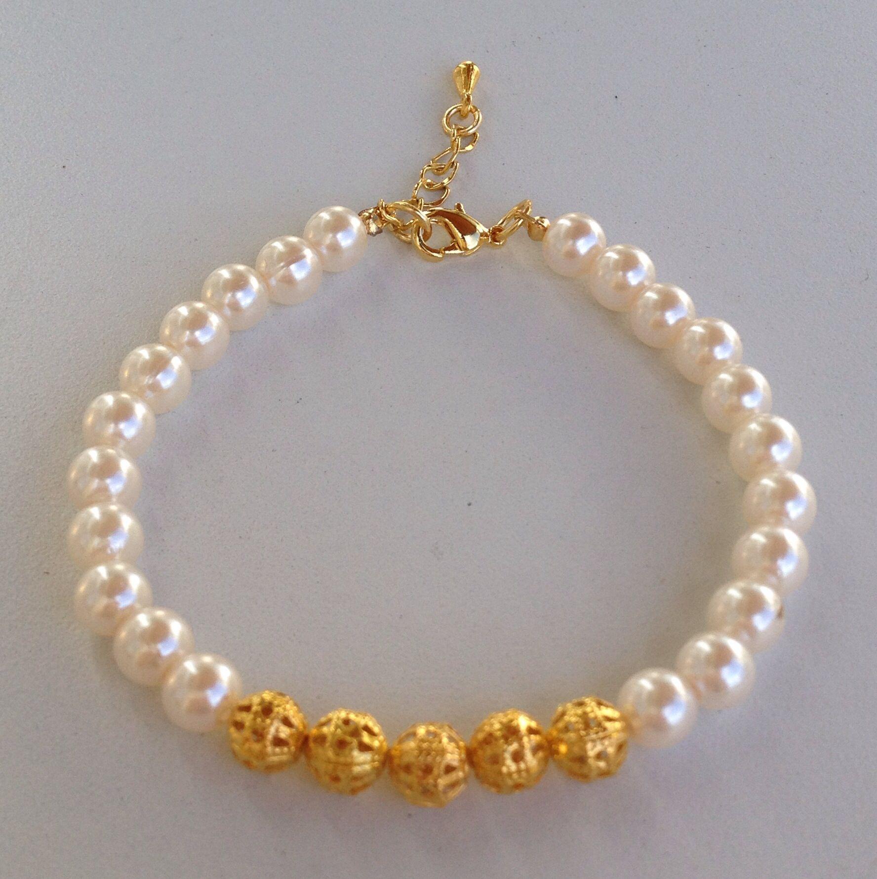Pearl bracelet pulseira de perolas