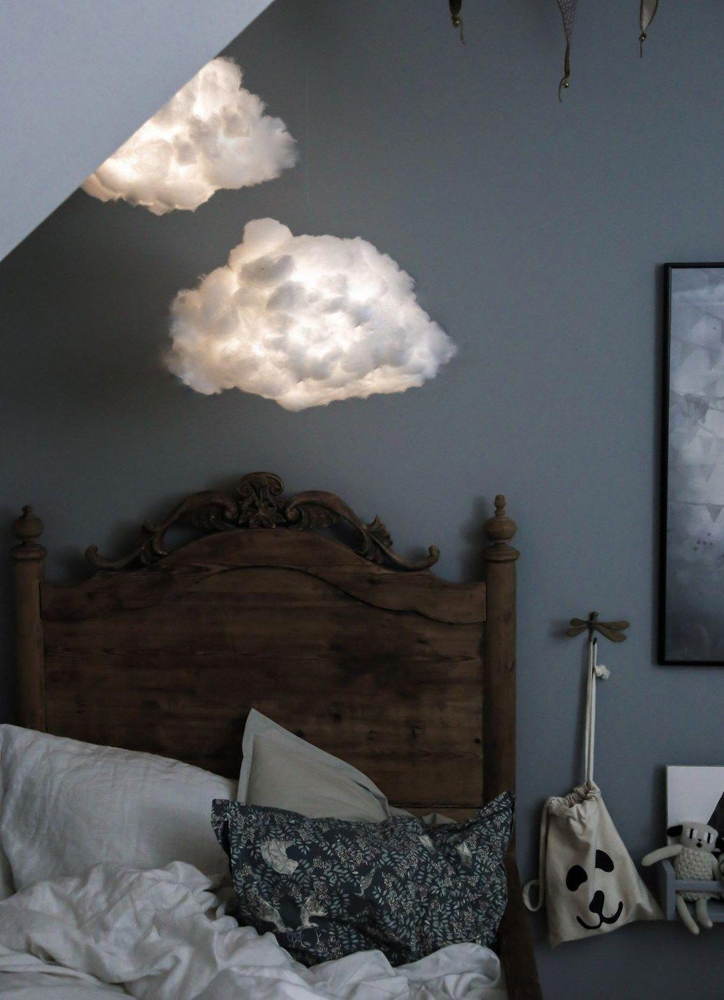 DIY light that looks like a cloud! Diy clouds, Cloud