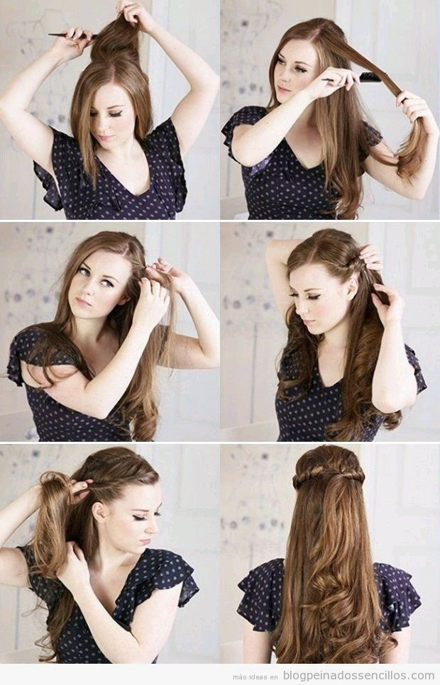 Peinado Sencillo Hair Styles Princess Hairstyles Long Hair Styles